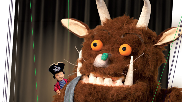 Grüffelon - Puppentheaterfest im FEZ